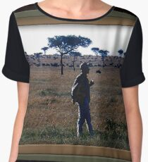Out Of Africa Women's Chiffon Top