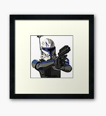 Captain Rex Framed Print
