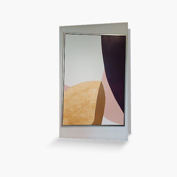 Plywood Art  Greeting Card