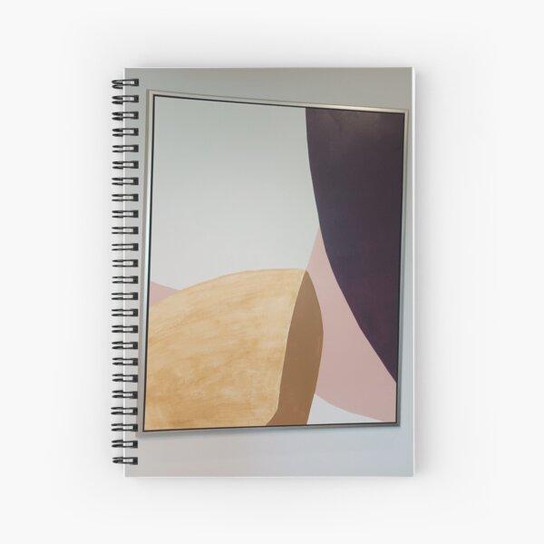 Plywood Art  Spiral Notebook