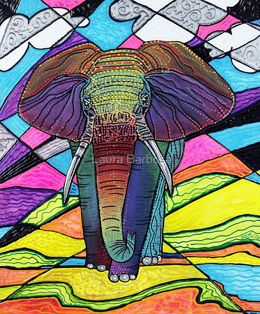 The Mighty Elephant by Laura Barbosa