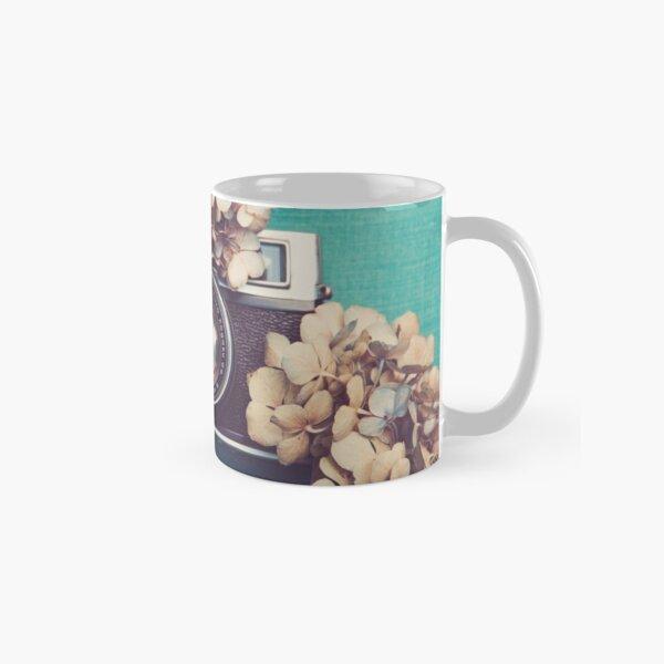 Camera & Hydrangea Classic Mug