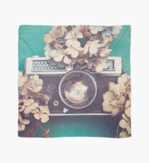 Camera & Hydrangea Scarf