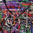 Graffiti Print by AbstractionsbyR