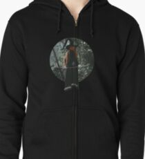 Flight Zipped Hoodie