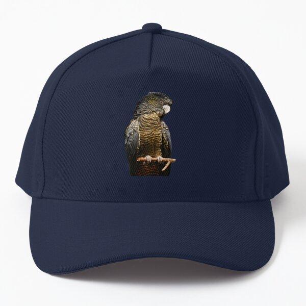 Red-tailed Black Cockatoo 3 Baseball Cap