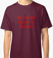 The People's Republic of Berkeley (red letters) Classic T-Shirt
