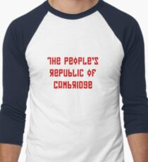 The People's Republic of Cambridge (red letters) T-Shirt