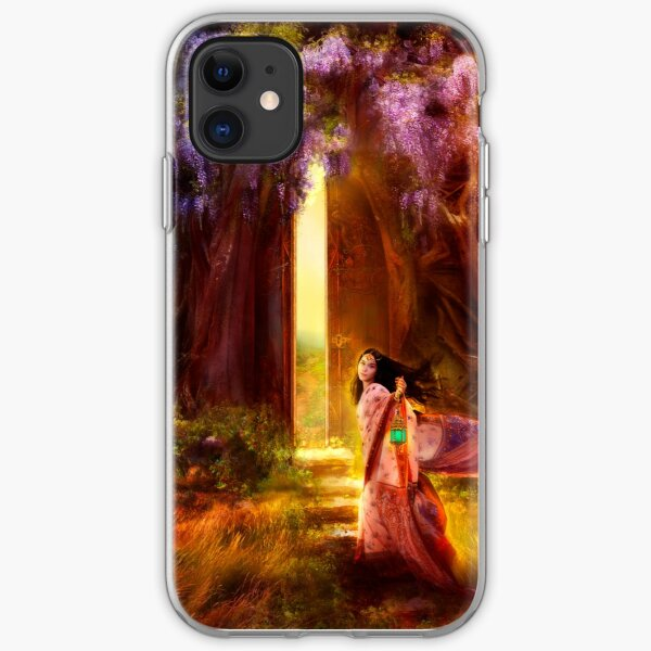 A Knock at the Door iPhone Soft Case