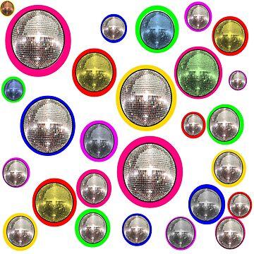 Mirror Balls by retropopdisco