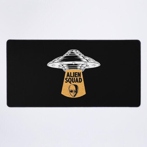 Alien Squad Gift / UFO Gift / Funny UFO  / Cute Alien Gift / Alien Gift Ideas / Alien Gift Desk Mat