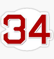 #34 Retired Sticker
