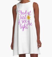 Rapunzel - Tangled  A-Line Dress