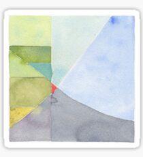 Landscape quilt Sticker