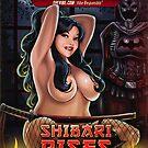 SheVibe Presents Kelly Shibari Cover Art - Shibari Rises by shevibe