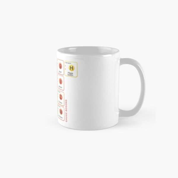 Standard Model of Elementary Particles Classic Mug