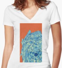 politician judo cane throne Women's Fitted V-Neck T-Shirt