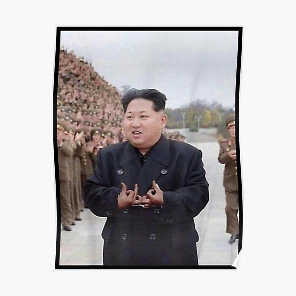Kim Jong Un Blood  Poster