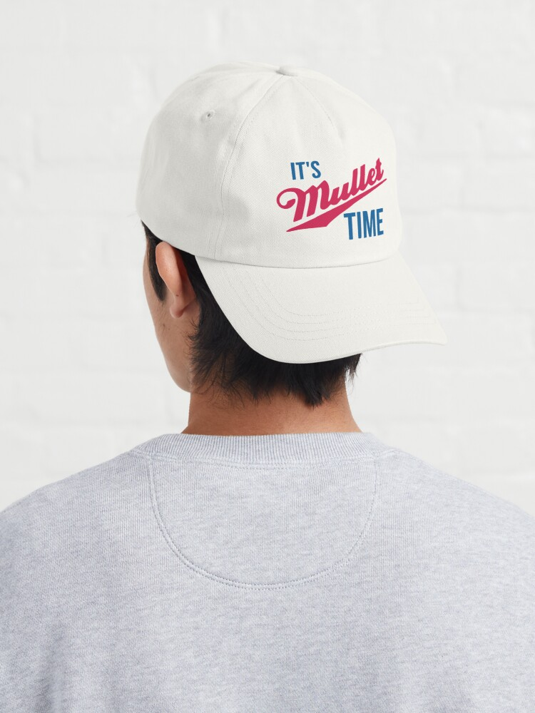 Alternate view of It's Mullet Time, Funny Mullet  Cap