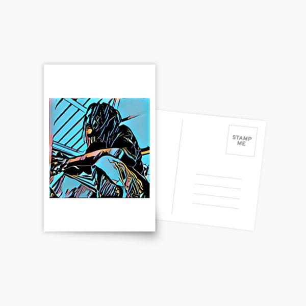 The Pondering Man Postcard