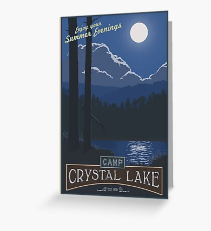 Best summer camp ever Greeting Card