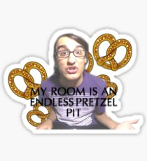 Pretzel Drew Sticker