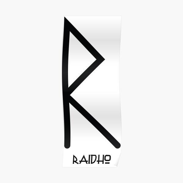 RUNE RAIDHO B Poster