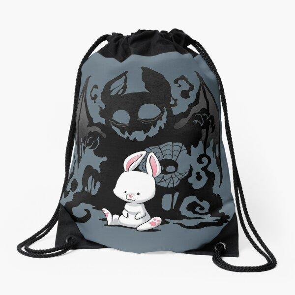 Beast Bunny Drawstring Bag