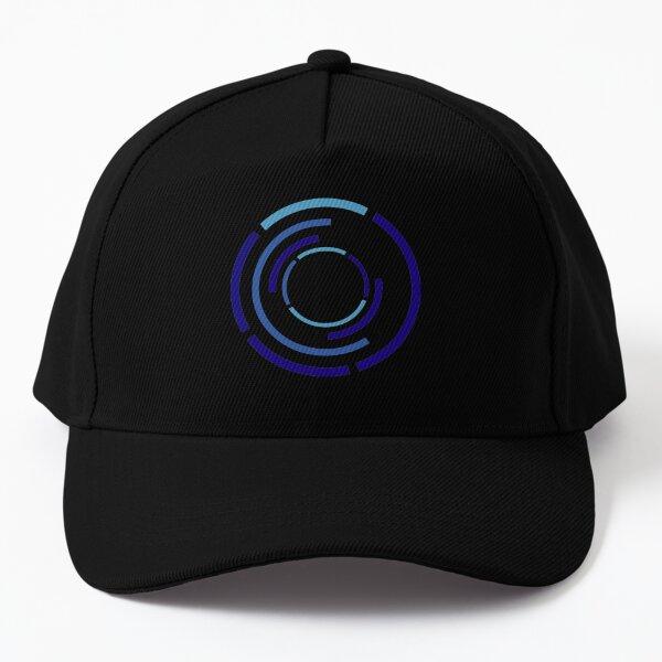 Circles Blue Baseball Cap