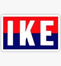 1952 IKE Sticker