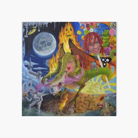 Trip At Knight Album Cover  Art Board Print