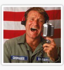 Good Morning Robin Williams  Sticker