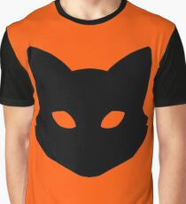 Fox Shadow Eyes Graphic T-Shirt
