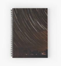 Star Trails Spiral Notebook