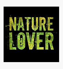 Nature Lover Photographic Print