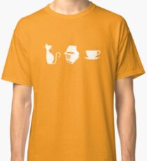 Cats, Books, and Coffee Classic T-Shirt
