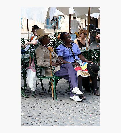 Cuban couple, Havana Photographic Print