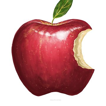 PAINTED APPLE LOGO von rtcifra