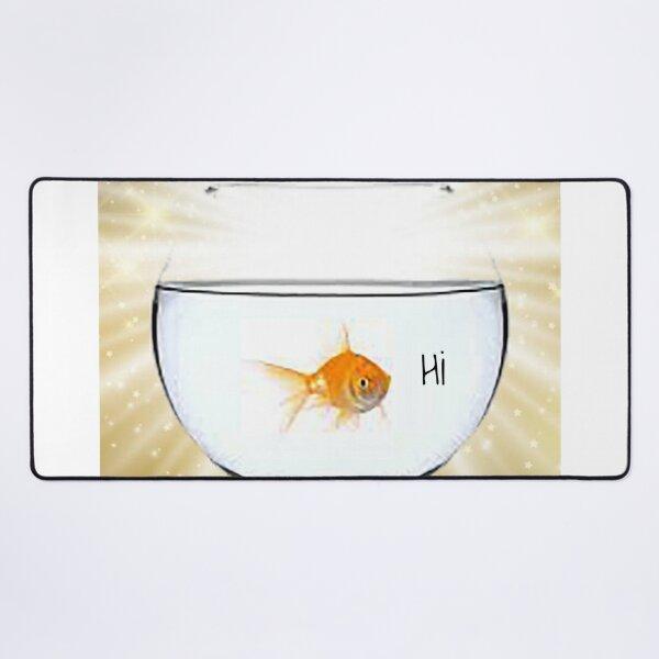 hi fish Desk Mat