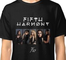 Fifth Harmony 7/27 Portrait #WhiteText Classic T-Shirt
