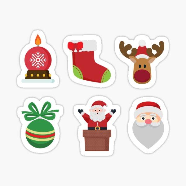 Christmas Day Pattern Sticker
