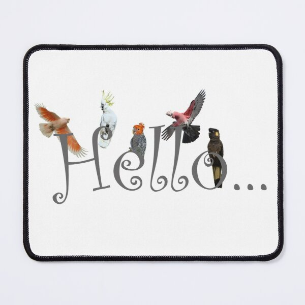 Hello Cockies Mouse Pad