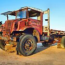 Outback Royal Mail delivery truck (retired). by George Petrovsky