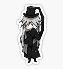 Chibi Undertaker Sticker