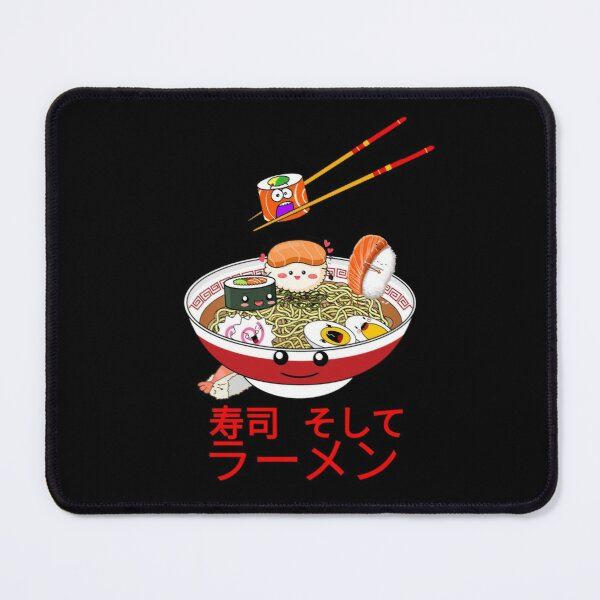 Sushi And Ramen Mouse Pad