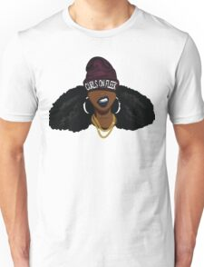 Curls on FLEEK Unisex T-Shirt