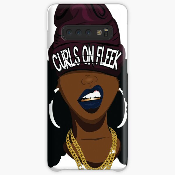 Curls on FLEEK Samsung Galaxy Snap Case