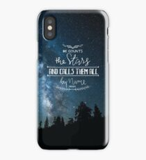 He Counts The Stars And Calls Them All By Name Psalm 147:4 iPhone Case