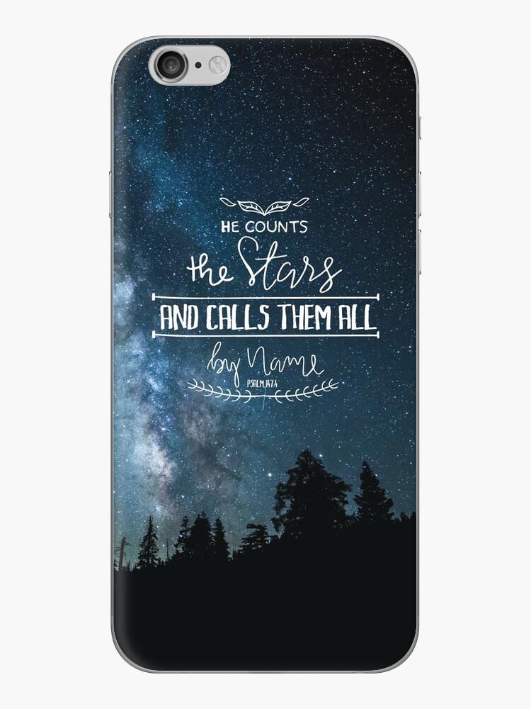 Er zählt die Sterne und nennt sie alle mit Namen Psalm 147: 4 von klthomas14