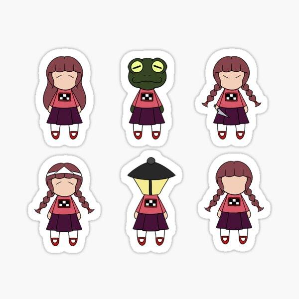 Yume Nikki Sticker Set #1 Effects Sticker